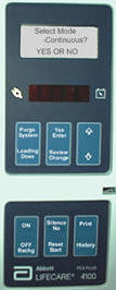 LifeCare Pump Touchpads